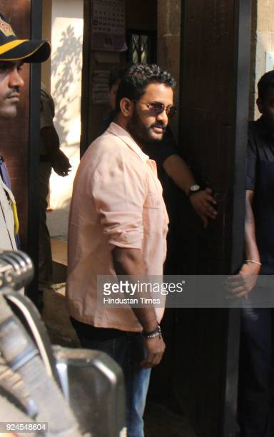 Indian sound designer Rasool Pookutty visits Anil Kapoor residence at Juhu to offer condolences to the family after the demise of Bollywood actor...