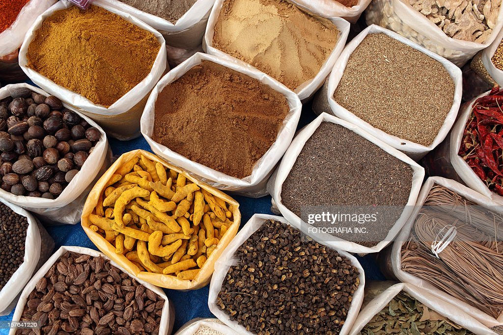 Indian Spices : Stock Photo