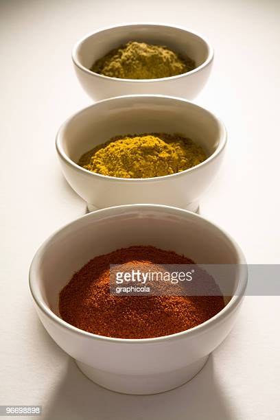 indian spices - garam masala stock photos and pictures
