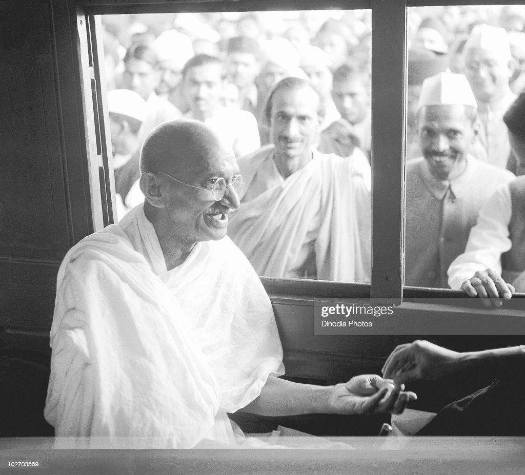 Mahatma Gandhi : News Photo