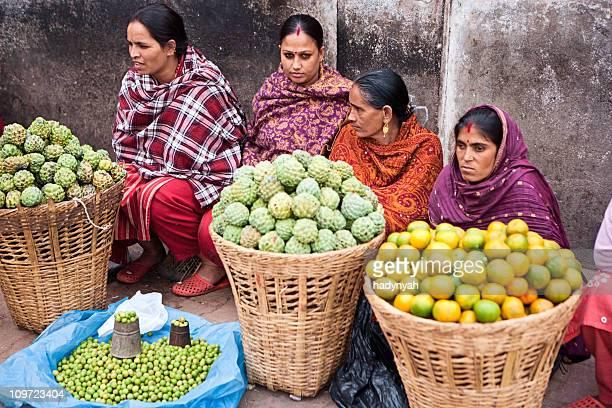Indian street Anbieter in Kathmandu, Nepal