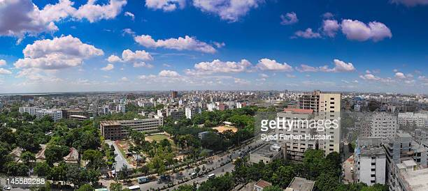 indian subcontinent cityscape - dhaka stock pictures, royalty-free photos & images