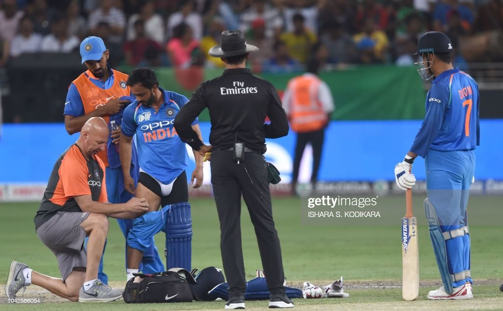 CRICKET-ASIA-CUP-BAN-IND : News Photo