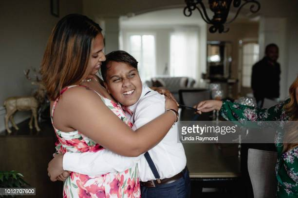 indian teenage boy with his sisters - suspenders stock pictures, royalty-free photos & images