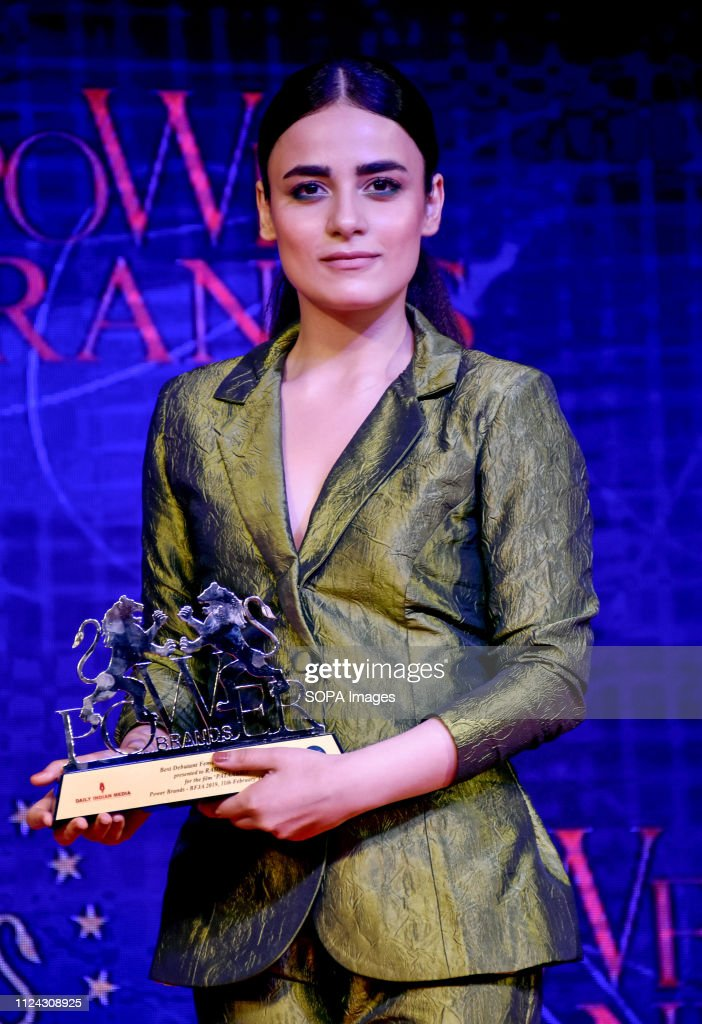 Indian television actress Radhika Madan attends Power Brands... : News Photo