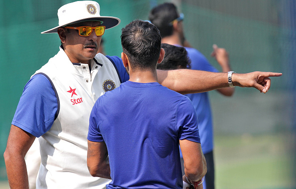 Indian And South African Cricket Teams Practice Ahead Of Mohali Test Match : News Photo