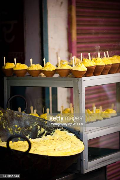 indian tradition food - varanasi stock pictures, royalty-free photos & images