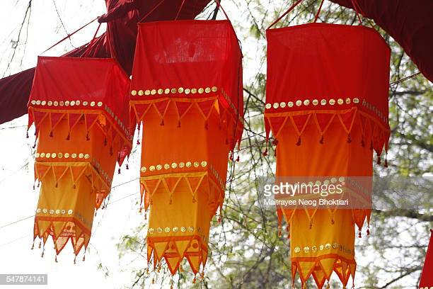 indian traditional lampshade - faridabad stock pictures, royalty-free photos & images