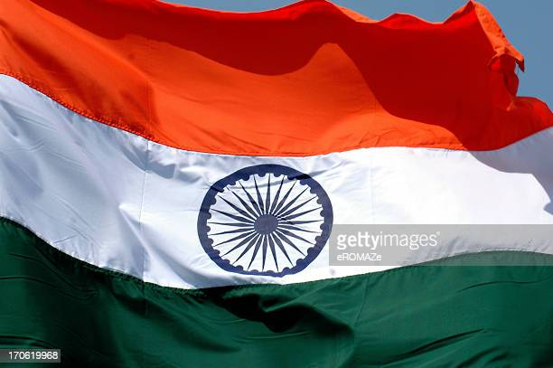 indian tricolor ! - indian flag stock pictures, royalty-free photos & images