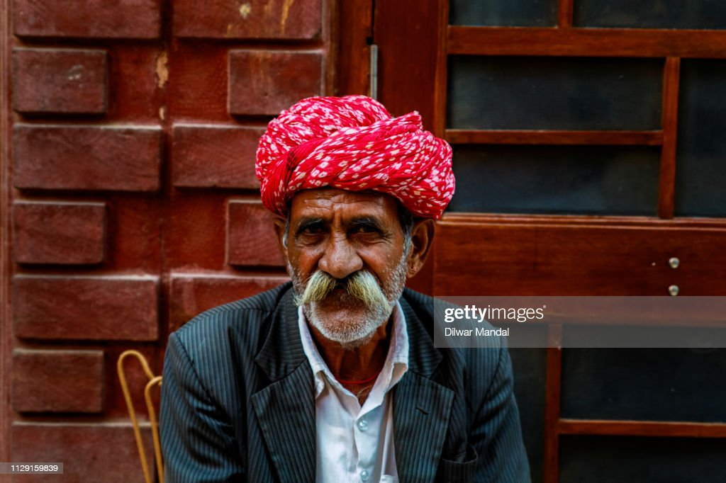 Indian Turban Man : Stock Photo