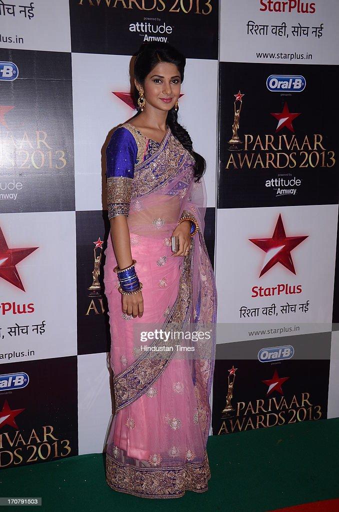 Indian TV actor Supriya Pilgoankar during the Star ...