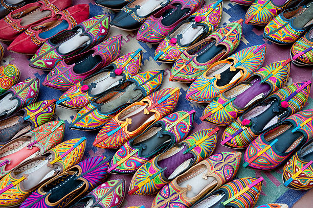 Indian typical shoes
