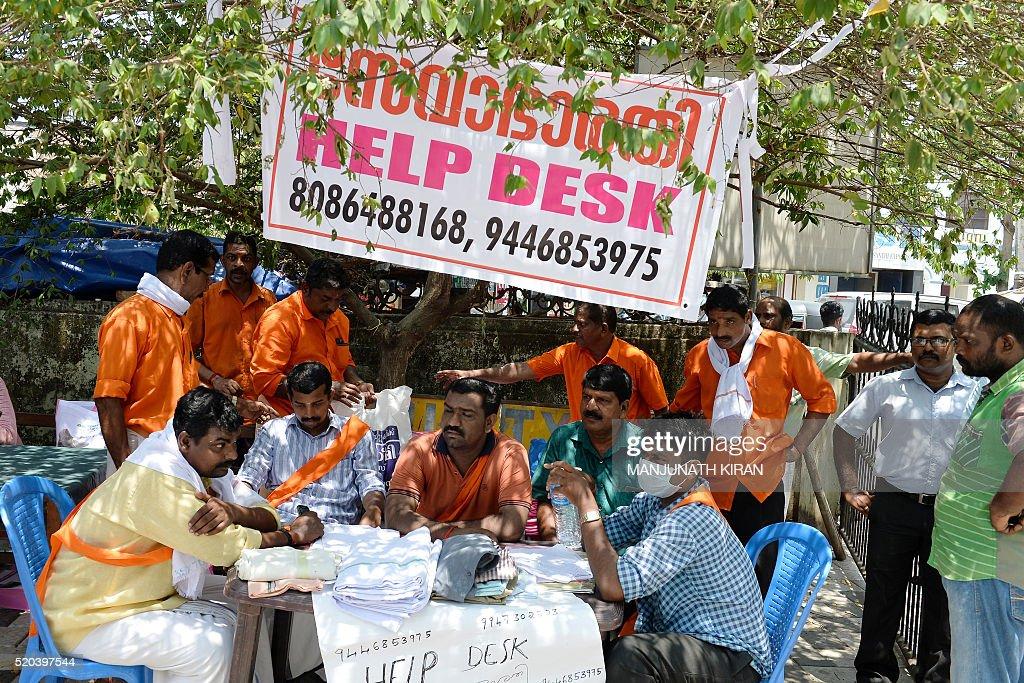 Indian Volunteers From Seva Bharathi A Group Linked To Rashtriya Swayam Sevak Sangh Rss