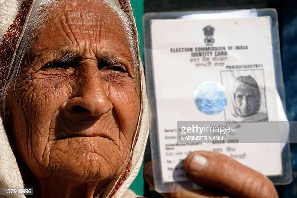 voters id card stock photos and pictures getty images