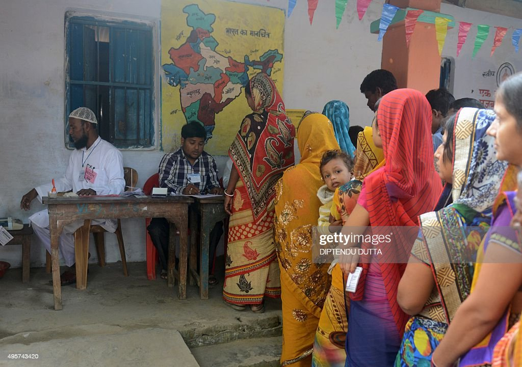 INDIA-ELECTION-BIHAR : News Photo