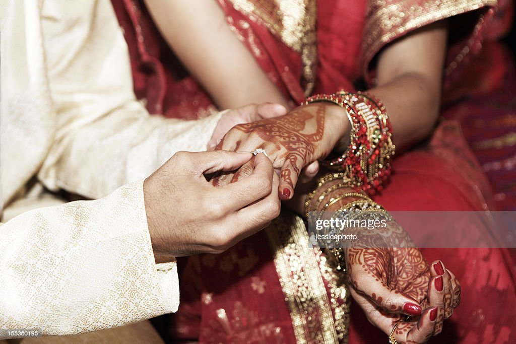 indian wedding rings stock photo - Indian Wedding Rings