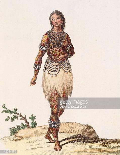 Indian woman from Orinoco Brazil 18th Century
