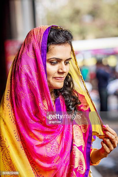 indian woman in traditional clothing - graphixel stock pictures, royalty-free photos & images