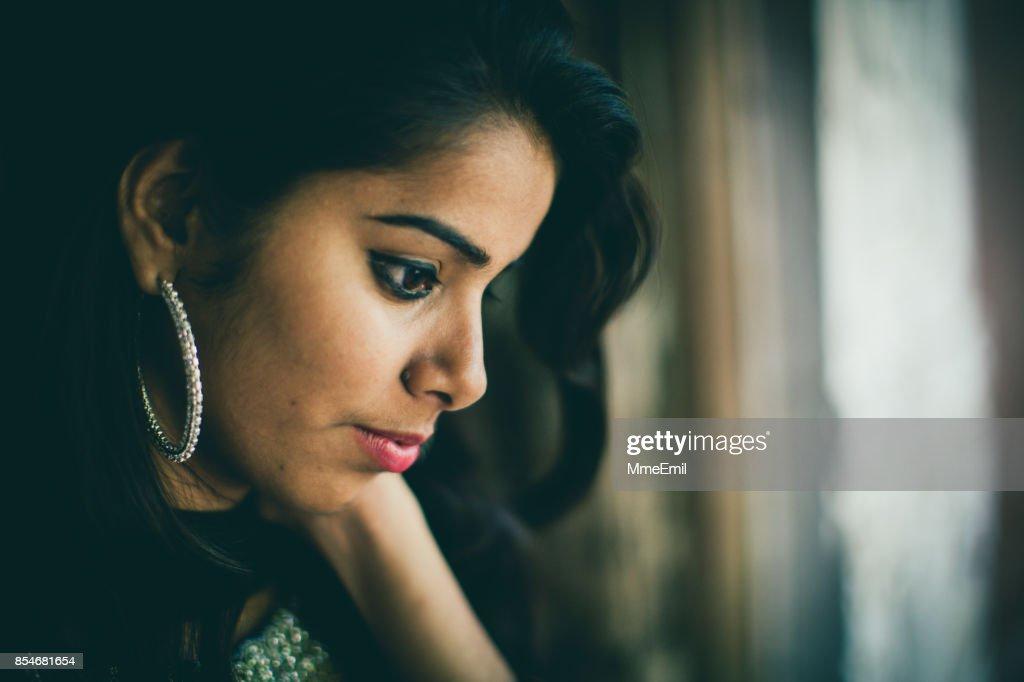 Indian woman : Stock Photo