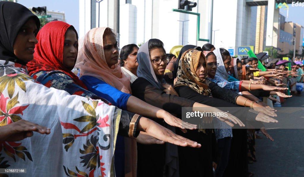 INDIA-RELIGION-COURT-GENDER-SABARIMALA : News Photo