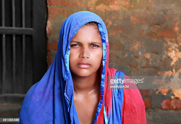 indian women portrait - very ugly women stock photos and pictures