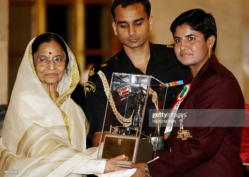 Indian wrestling champion and Gold medal winner of the