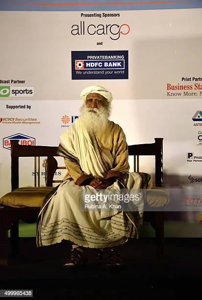 Indian yogi and mystic Sadhguru Jaggi Vasudev at the Make A Life Golf Jaunt to raise funds for Isha Vidhya the rural education arm of his global...