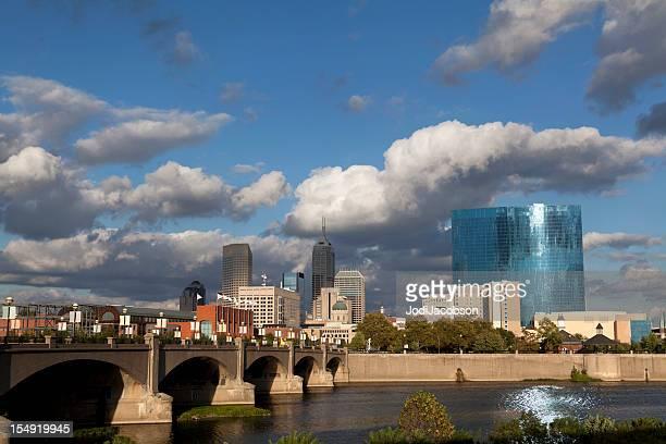 Indiana cityscape