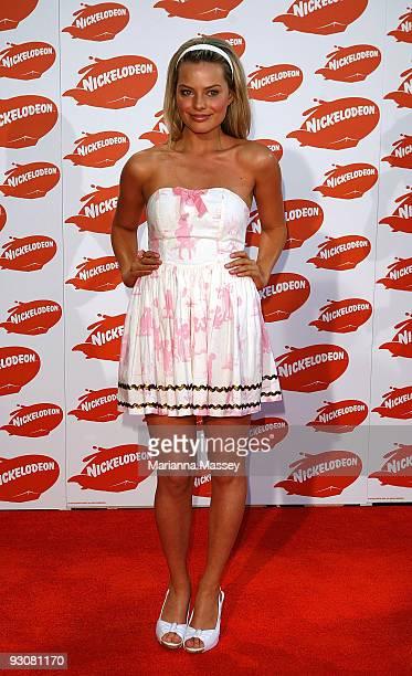 Indiana Evans arrives for the Australian Nickelodeon Kids' Choice Awards 2009 at Hisense Arena on November 13 2009 in Melbourne Australia
