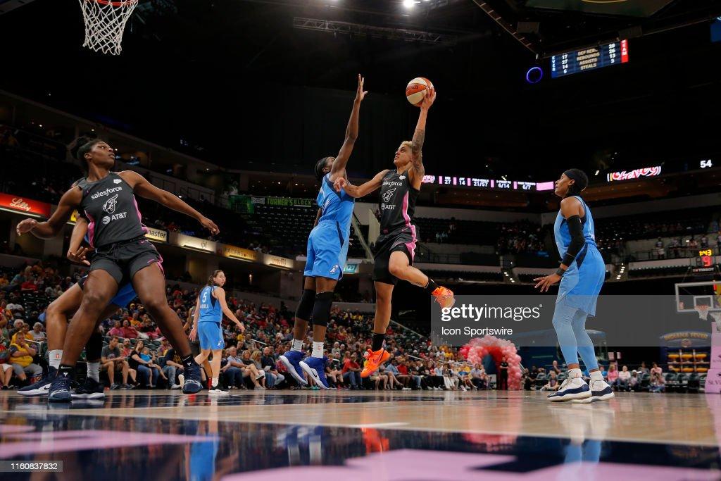WNBA:  Aug 10 Atlanta Dream at Indiana Fever : News Photo