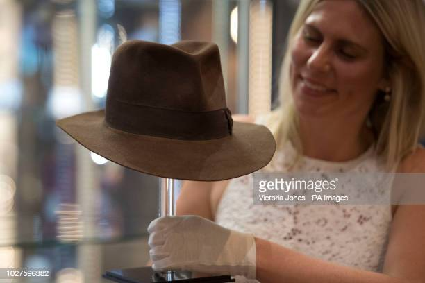 67286324baa94 Indiana Jones  Fedora hat worn by Harrison Ford in Indiana Jones and the  Raiders of
