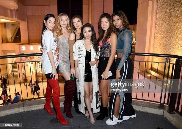 Indiana Massara Angelica Salek Brighton Sharbino Ciara RIley Wilson Sabrina Hisa and Aliyah Moulden attend Ciara Riley Wilson's 18th birthday party...