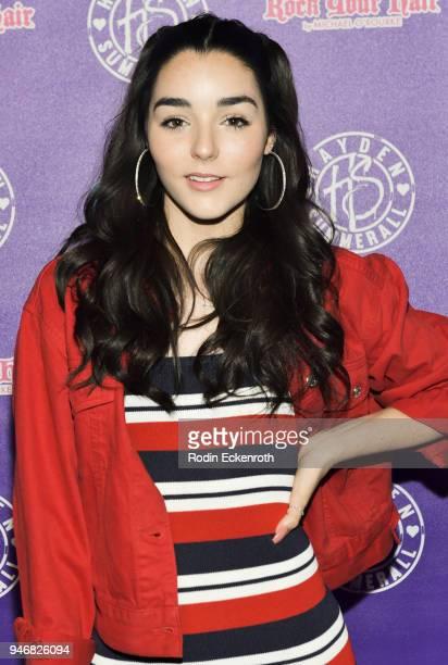 Indiana Massara attends Hayden Summerall's 13th Birthday Bash at Bardot on April 15 2018 in Hollywood California