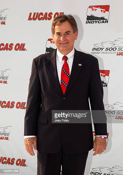 Indiana Republican candidate for Senate Richard Mourdock attends Indy 500 Soiree Presented by Lucas Oil on May 25 2012 in Indianapolis Indiana