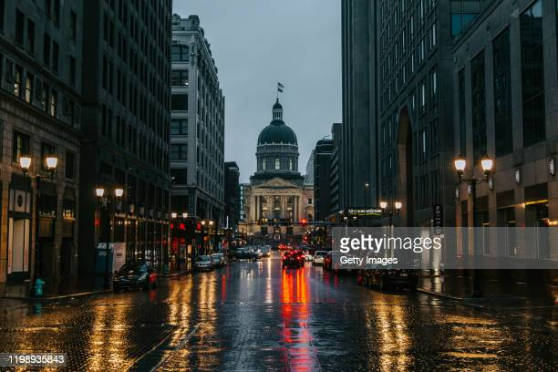 indiana state house - indiana stock pictures, royalty-free photos & images