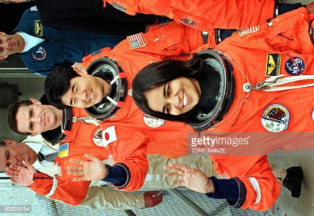 IndianAmerican astronaut Kalpana Chawla Japanese astronaut Takao Doi representing the Japanese National Space Development Agency and Ukrainian...
