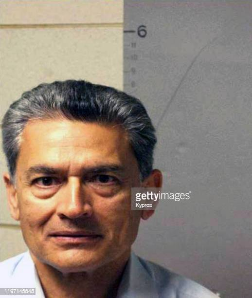 Indian-American businessman Rajat Gupta, following his indictment by the United States Marshal Service for allegedly passing on corporate secrets for...