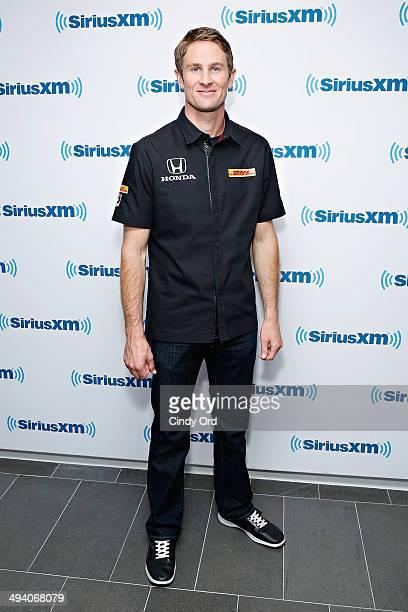 Indianapolis 500 2014 winner Ryan HunterReay visits the SiriusXM Studios on May 27 2014 in New York City