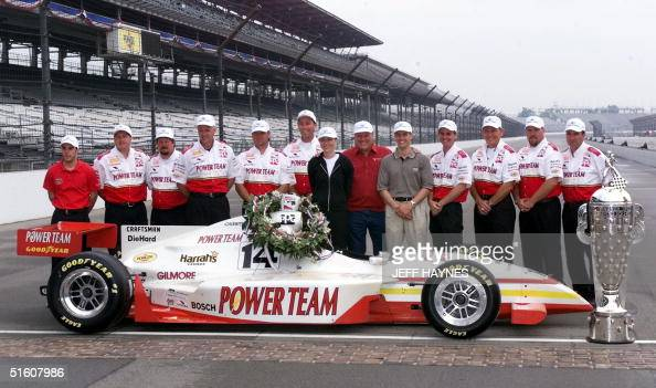 indianapolis 500 winner kenny brack of the sweden poses for    news photo