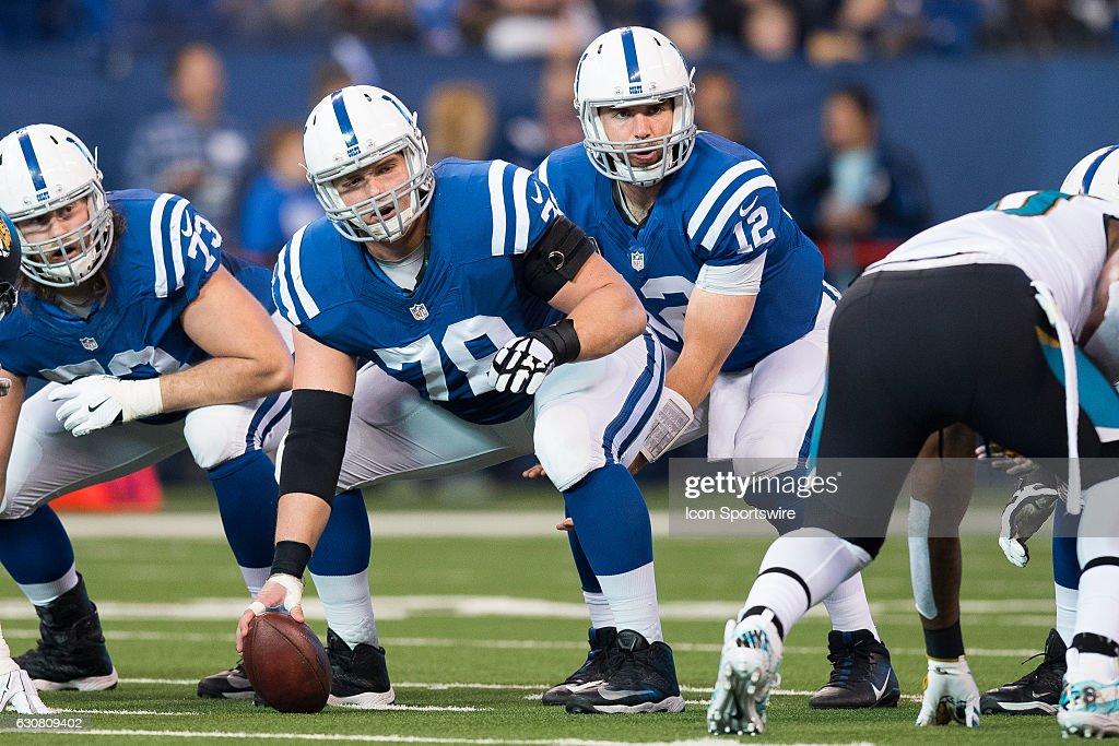 NFL: JAN 01 Jaguars at Colts : News Photo