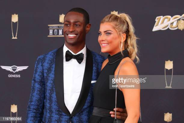 Indianapolis Colts cornerback Pierre Desir poses prior to the NFL Honors on February 1, 2020 at the Adrienne Arsht Center in Miami, FL.