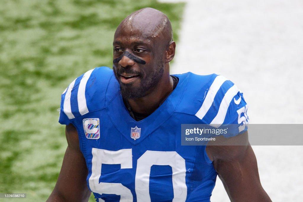 NFL: OCT 18 Bengals at Colts : News Photo