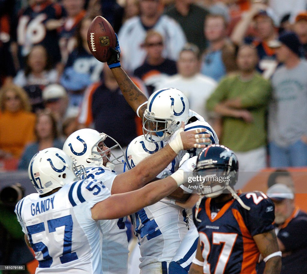 CO--OCTOBER 29TH 2006-- Indianapolis Colts Dylan Gandy