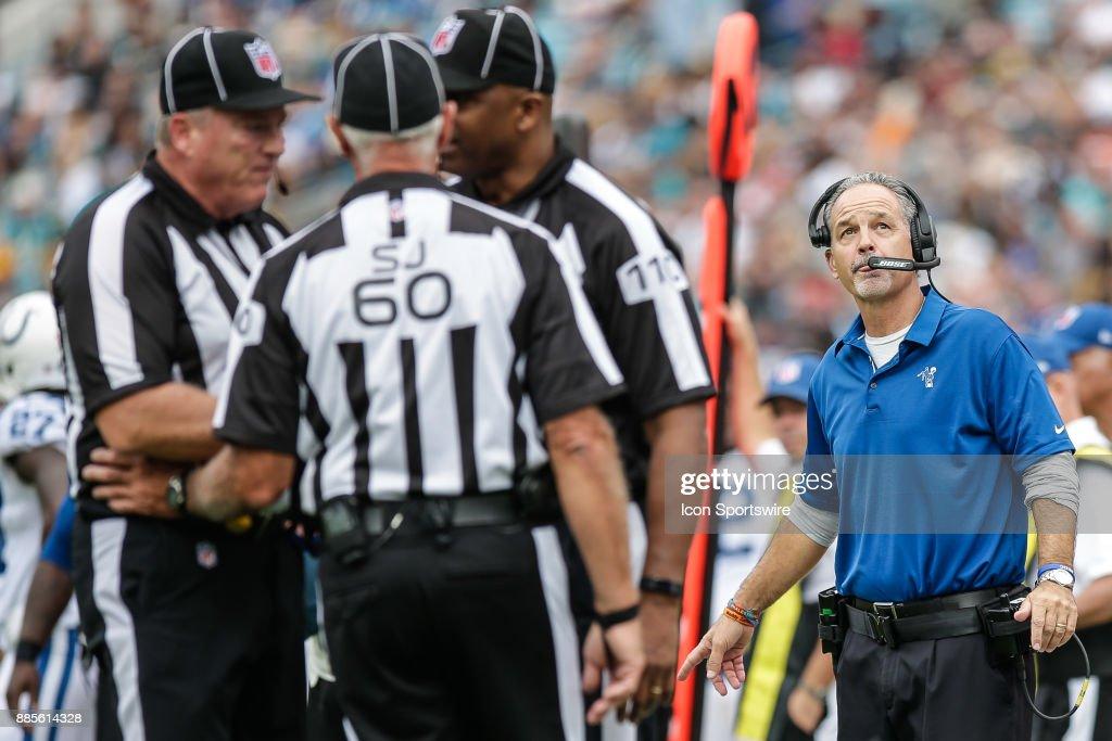 NFL: DEC 03 Colts at Jaguars : News Photo