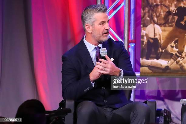 Indianapolis Colts head coach Frank Reich speaks during the 32nd Annual Super Bowl Breakfast during Super Bowl LIII week on February 2 2019 at the...