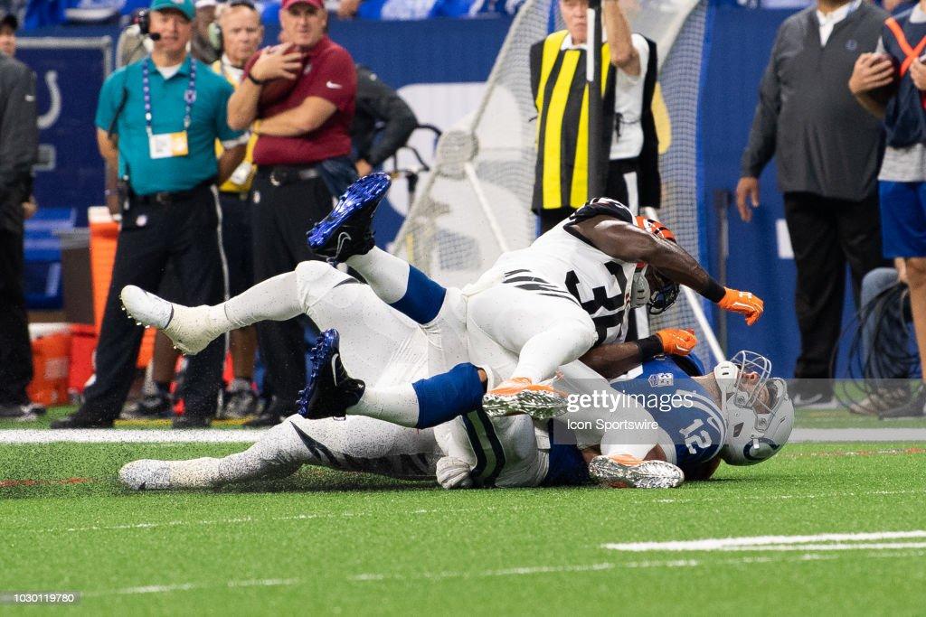 NFL: SEP 09 Bengals at Colts : News Photo