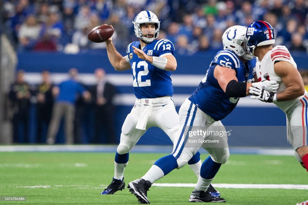 NFL: DEC 23 Giants at Colts : News Photo