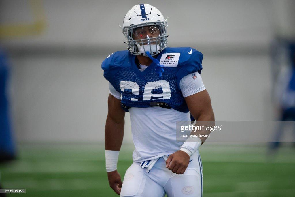 NFL: AUG 18 Colts Training Camp : News Photo