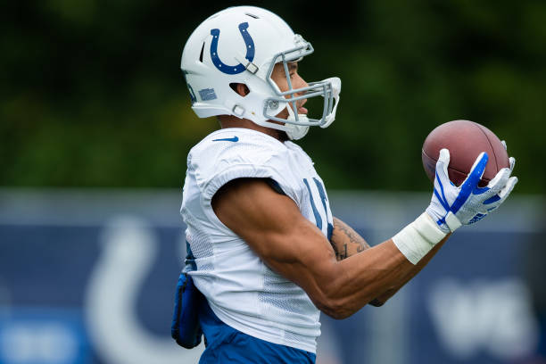 watch 7c0e5 17fd1 NFL: AUG 17 Colts Training Camp Pictures | Getty Images