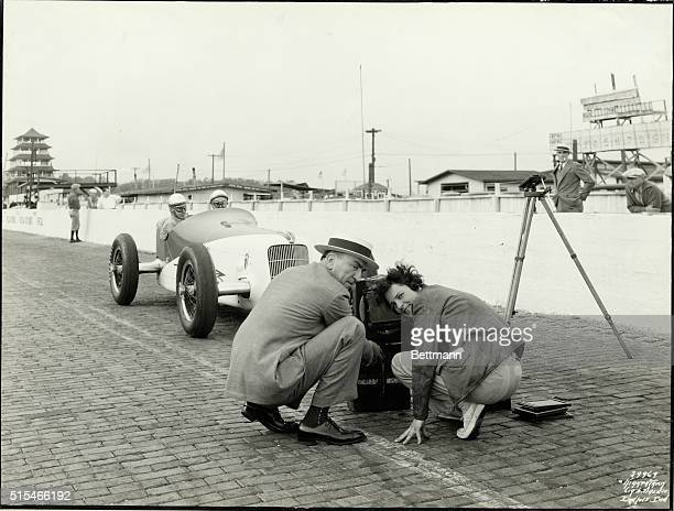Indianapolis IN Margaret BourkeWhitee American photographer who was assisted by Eddie Rickenbacker at Indianapolis Speedway Whoever had a camera...